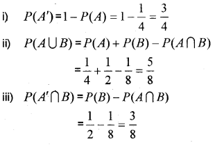 Plus One Maths Chapter Wise Previous Questions Chapter 16 Probability 11