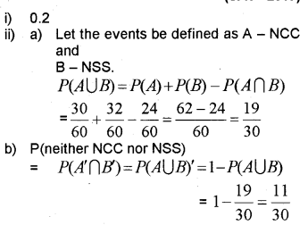 Plus One Maths Chapter Wise Previous Questions Chapter 16 Probability 13