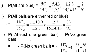 Plus One Maths Chapter Wise Previous Questions Chapter 16 Probability 15