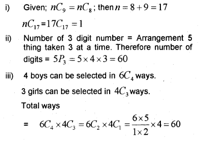 Plus One Maths Chapter Wise Previous Questions Chapter 7 Permutation and Combinations 11