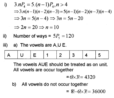 Plus One Maths Chapter Wise Previous Questions Chapter 7 Permutation and Combinations 25