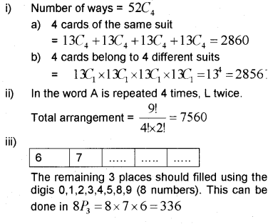 Plus One Maths Chapter Wise Previous Questions Chapter 7 Permutation and Combinations 34