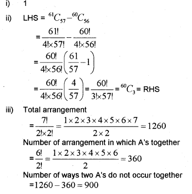 Plus One Maths Chapter Wise Previous Questions Chapter 7 Permutation and Combinations 40