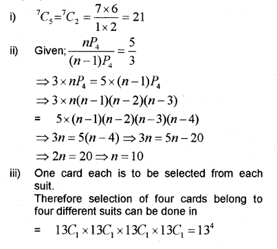Plus One Maths Chapter Wise Previous Questions Chapter 7 Permutation and Combinations 41