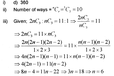 Plus One Maths Chapter Wise Previous Questions Chapter 7 Permutation and Combinations 43