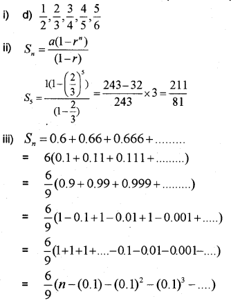Plus One Maths Chapter Wise Previous Questions Chapter 9 Sequences and Series 35
