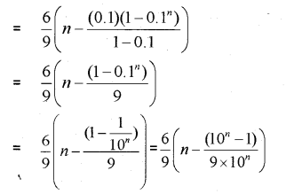 Plus One Maths Chapter Wise Previous Questions Chapter 9 Sequences and Series 36