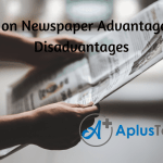 Newspaper Advertising Advantages and Disadvantages Essay