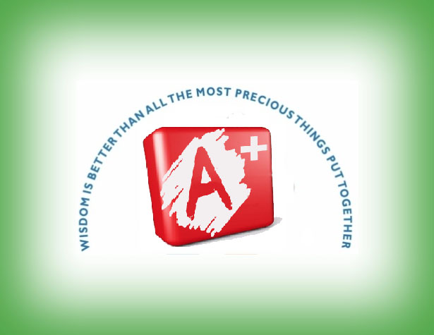 A Plus Tutoring Test Prep Logo