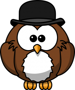 wise tutor owl Mascot