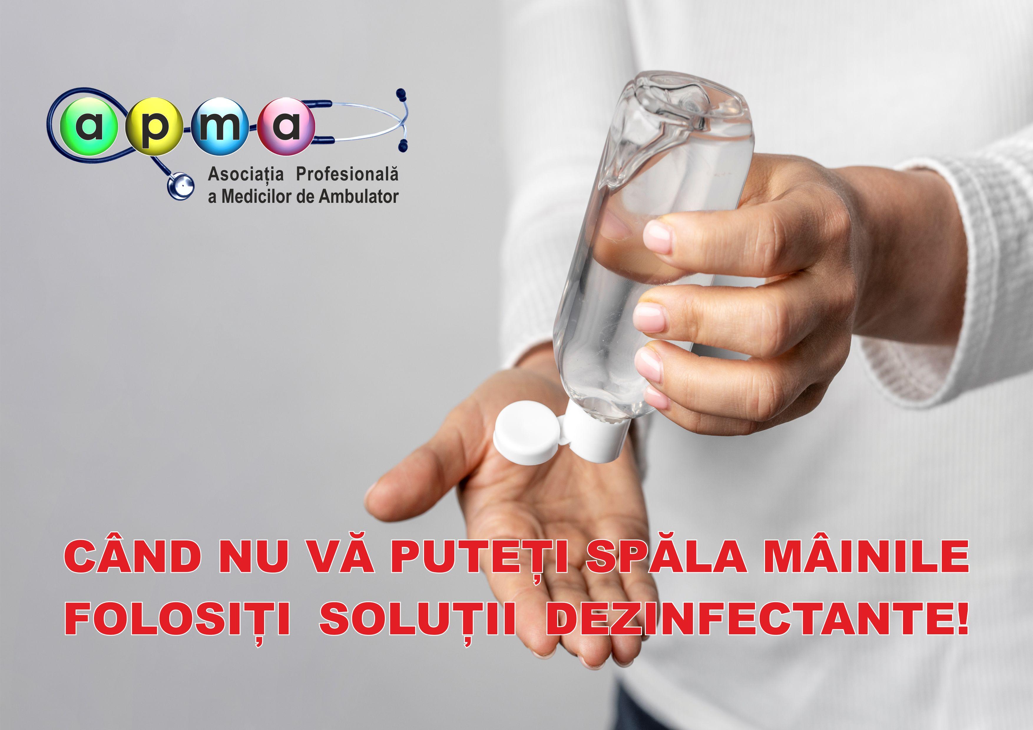 solutie dezinfectant