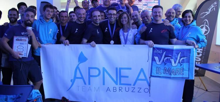 """Al I Trofeo """"Ever Blue Apnea Family"""" Apnea Team Abruzzo ancora sugli scudi"""