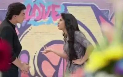 Kartik and Naira fight