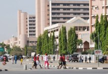 Electric Spark Causes Fire at Federal Ministry of Health says official