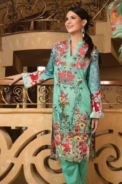 Zara Khan Embroidered Lawn Collection 2018 09