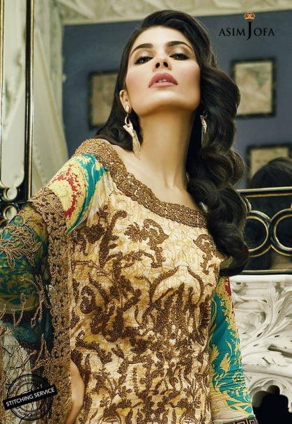 Asim Jofa Luxury Lawn Collection 2018 12B