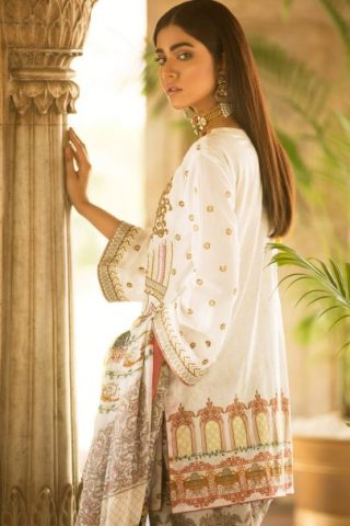 Qalamkar Luxury Festive Collection 2018 Amal 10