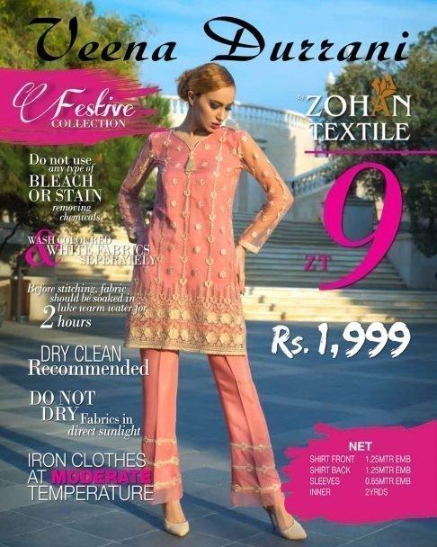 Veena Durrani Luxury Festive Collection 2018 09