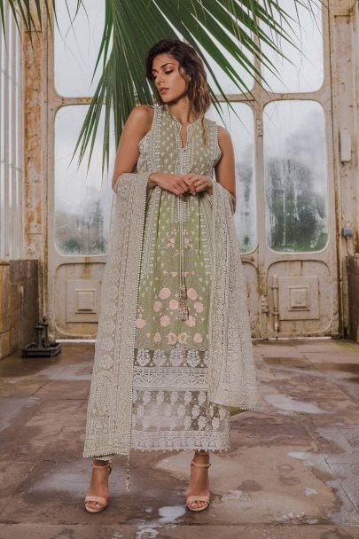 SOBIA NAZIR LUXURY LAWN COLLECTION 2019 04B