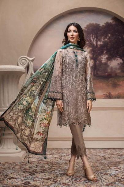 JAZMIN SHAHNAMEH CHIFFON EID COLLECTION 2019 08 Shahwar