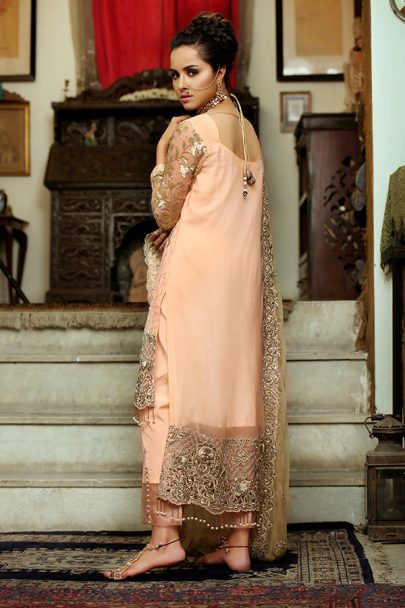 Majestic Luxury Chiffon Collection by Embroyal 2019 – 08 Imperial Roseate