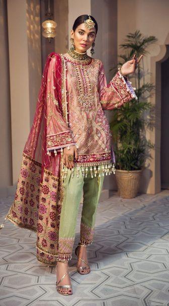 Anaya Isfahan Embroidered Chiffon Unstitched 3 Piece Suit 2019 04 SHAHBANO