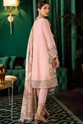 Unstitched 3 Pcs Iznik Luxury Velvet Collection 2020 – Winter Collection ILV-10 Ballerina