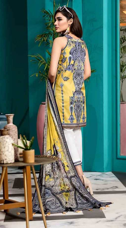 Viva by Anaya Embroidered Lawn Unstitched 3 Piece Suit AVL20-06-A – Summer Collection