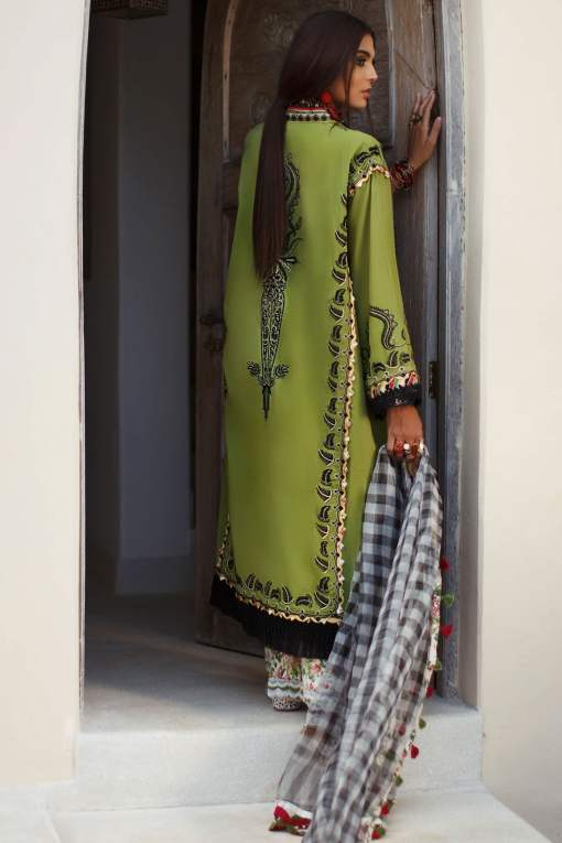 Elan Luxury Lawn Unstitched 3 Piece Suit ELL20 15 B JOHARI – Lawn Collection