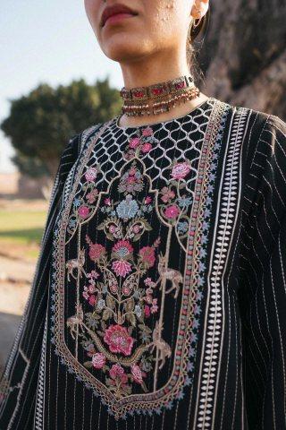 Zara Shahjahan Luxury Embroidered Lawn Unstitched 3 Piece Suit ZSL20 ZEENAT-A – Summer Collection