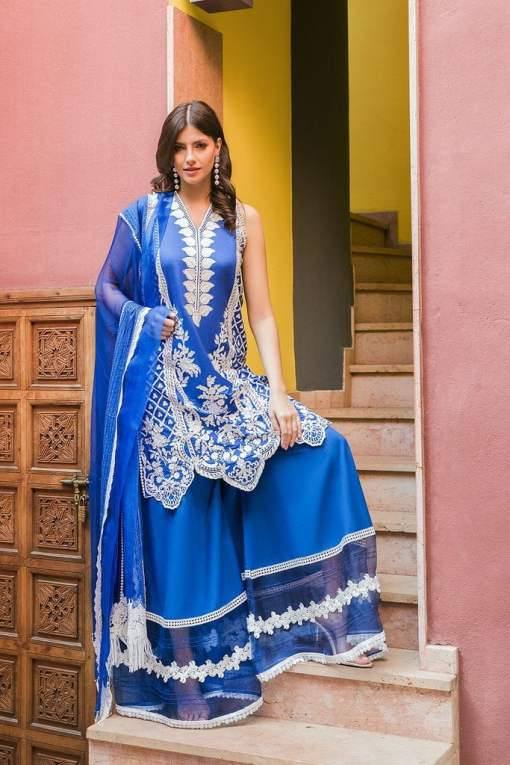 Sobia Nazir Embroidered Lawn Unstitched 3 Piece Suit SBNL20 04 A – Lawn Collection