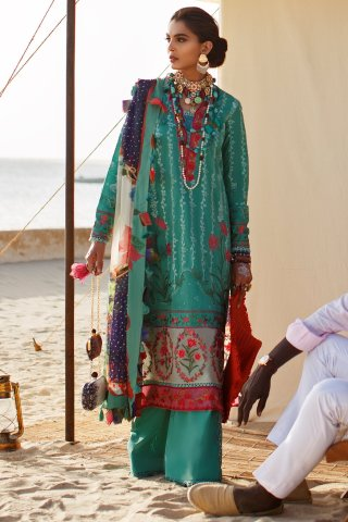 Elan Luxury Lawn Unstitched 3 Piece Suit ELL20 04 B NALAH – Lawn Collection