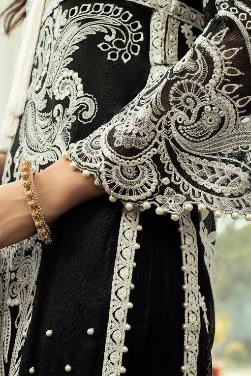 Mushq Luxury Chikankari Festive Lawn Unstitched 3 Piece Suit MFL20-01 – Summer Collection