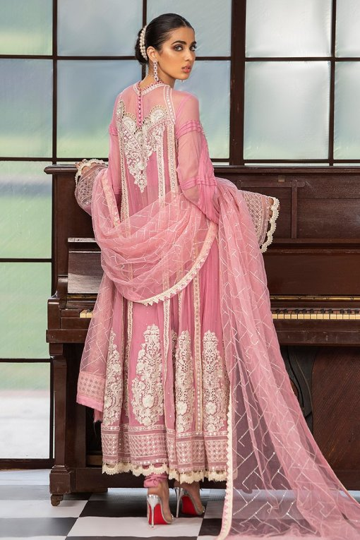 Mushq Embroidered Chiffon Unstitched 3 Piece Suit MQFC20 3 ROSEATE – Luxury Collection