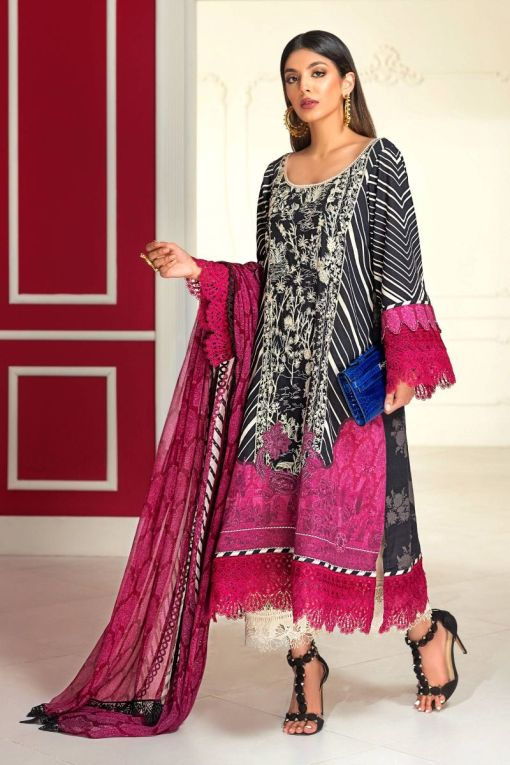 Muzlin by Sana Safinaz Wool Unstitched 2 Piece Suit MWSS20 11A –  Winter Collection