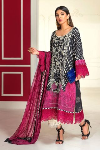 Muzlin by Sana Safinaz Wool Unstitched 3 Piece Suit MWSS20 11A -  Winter Collection