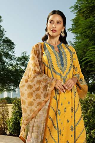 Sobia Nazir Khaddar Unstitched 3 Piece Suit SNWC20 03A - Winter Collection