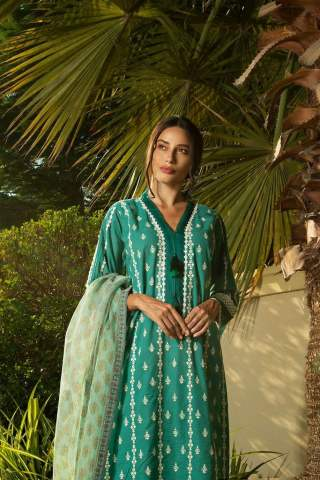 Sobia Nazir Khaddar Unstitched 3 Piece Suit SNWC20 06B - Winter Collection