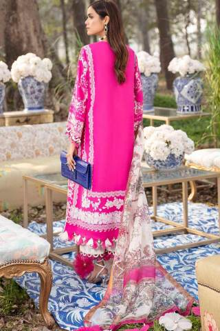 Sana Safinaz Embroidered Slub Lawn Unstitched 3 Piece Suit 05-A – Summer Collection
