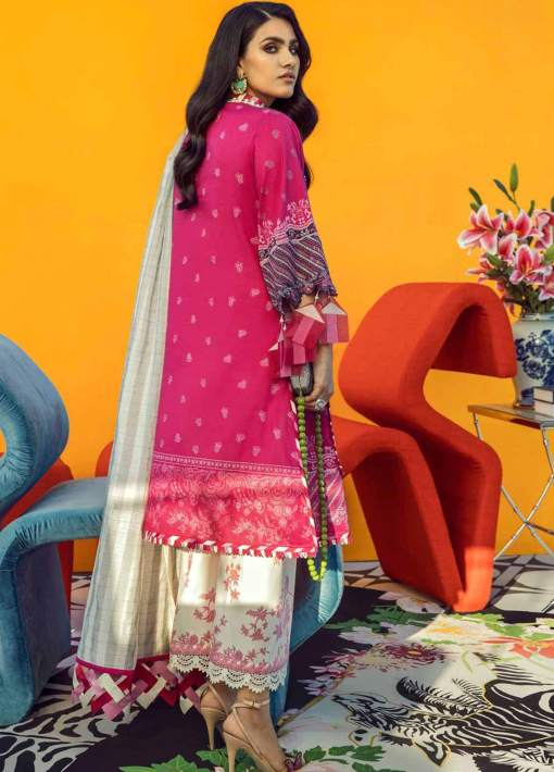 Muzlin by Sana Safinaz Embroidered Lawn Unstitched 3 Piece Suit 02A – Summer Collection