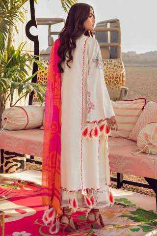 Muzlin by Sana Safinaz Embroidered Lawn Unstitched 3 Piece Suit 19B – Summer Collection