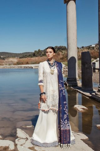 Selene By Republic WomensWear Embroidered Luxury Lawn Unstitched 3 Piece Suit 06B Jaseena – Summer Collection