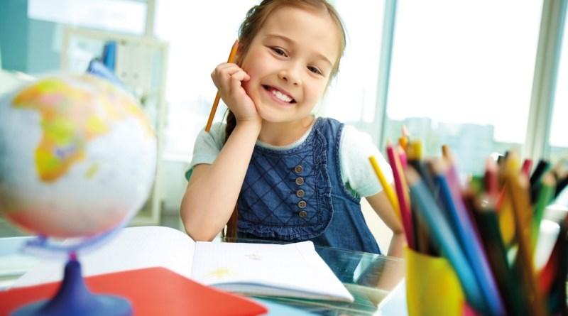 Ferien sind vorbei - Ein glückliches Schulkind