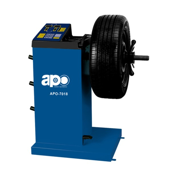 APO-7018 Self-Calibrating Wheel Balancer