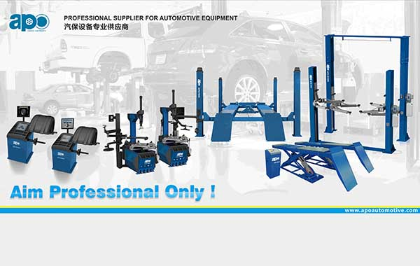 Automotive Equipment Catalog:APO Tire Changer & Wheel Balancer & Vehicle Lift Catalog 2019