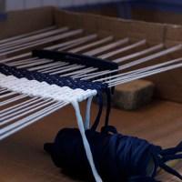 TUTO - Fabriquer un métier à tisser en carton