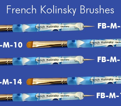 FrenchKolinskyBrushes