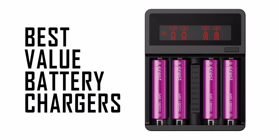 Best Vape Battery Chargers - Apollo E Cigs USA Blog