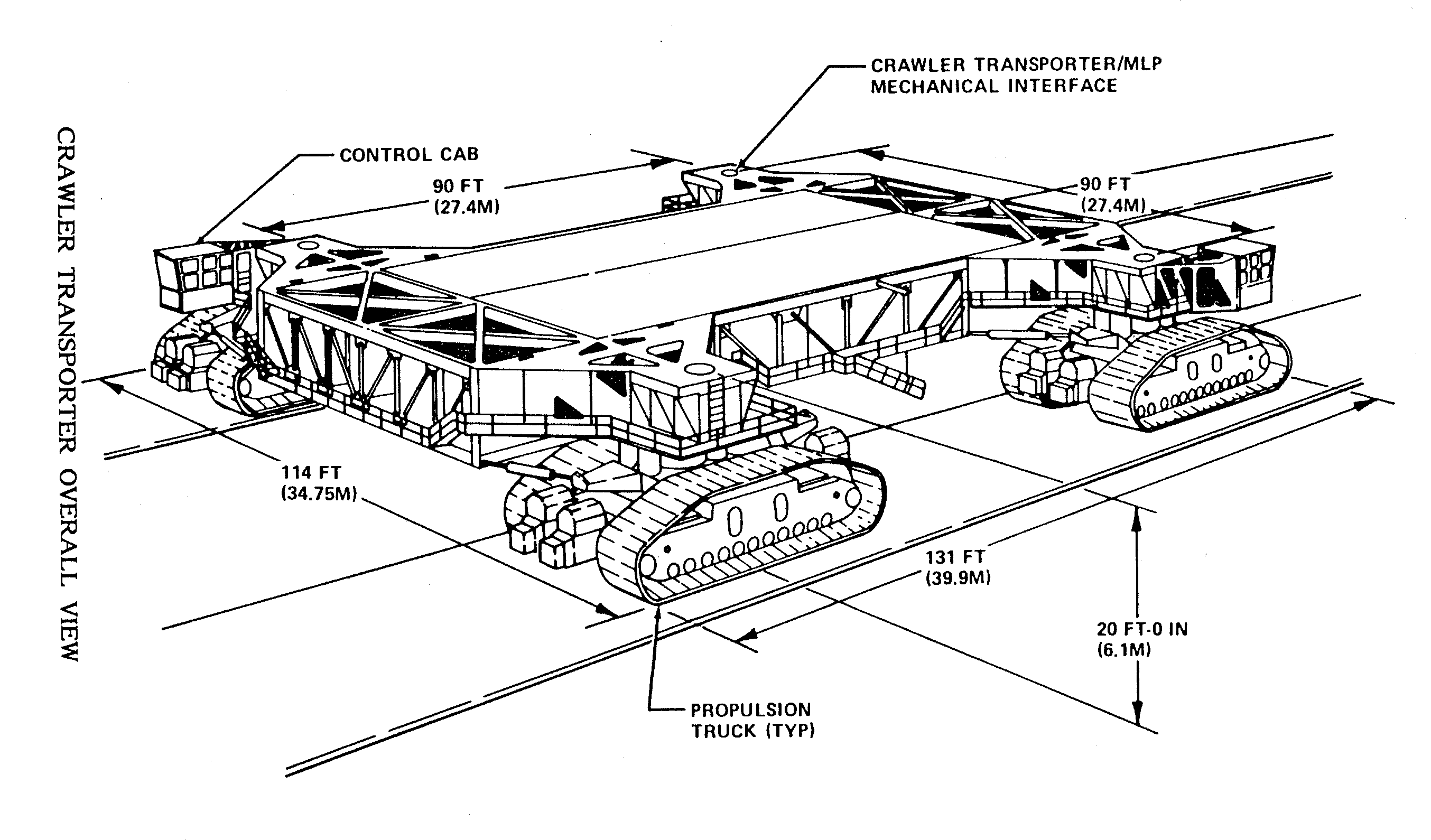 Nasa Apollo Project Crawler Transporter Ct
