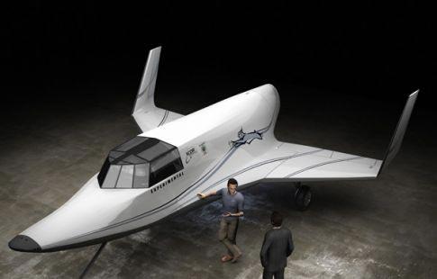 O avião espacial Lynx da XCOR Aerospace (http://www.apolo11.com)